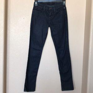 Joe's Jeans JJ dark cigarette  jeans size 24 waist